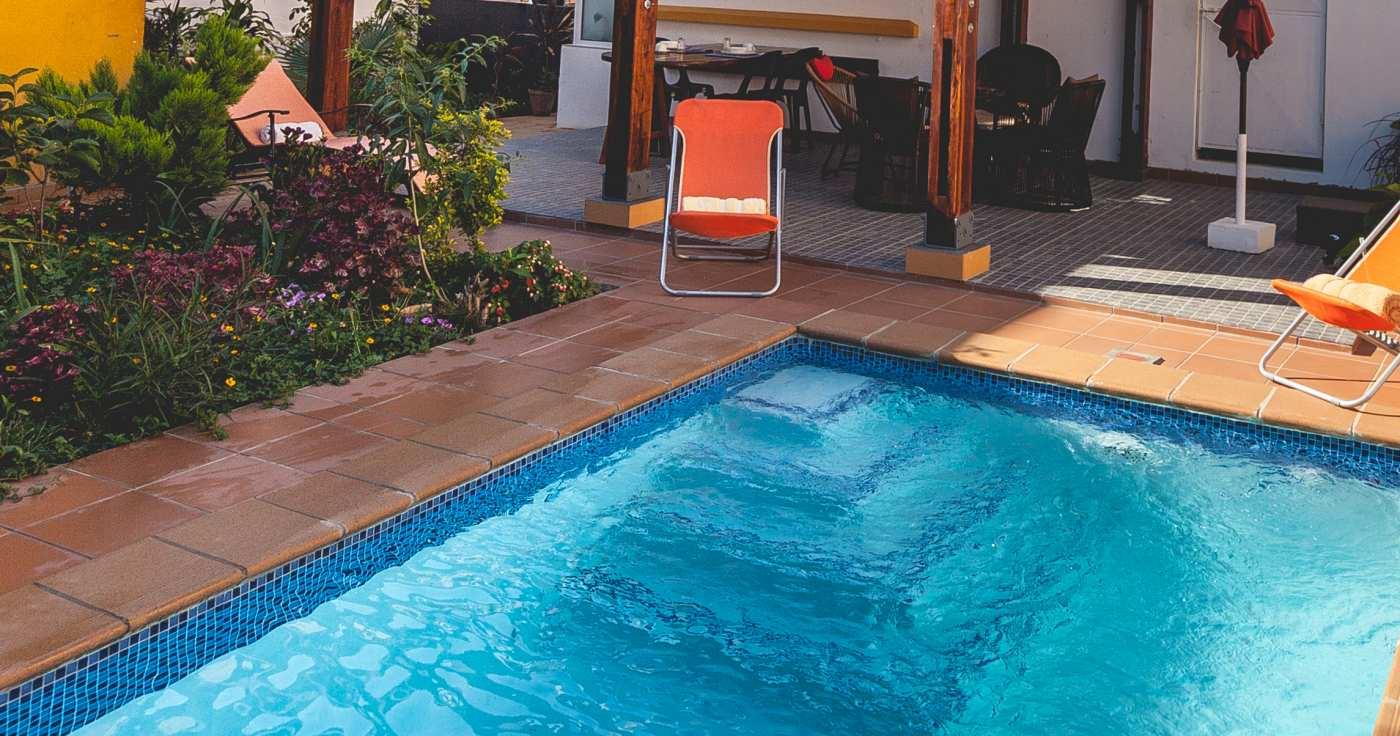 Swimming Pool at Residencial Palmeiras